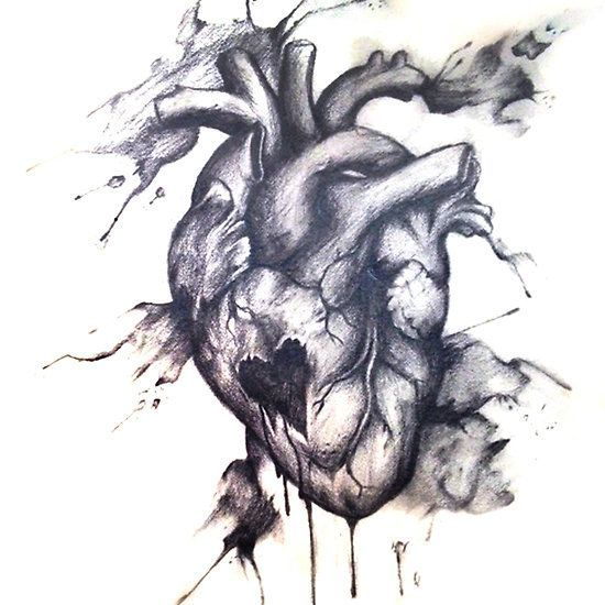 Bleeding Heart Tattoo Design Ink Watercolor Bleeding Heart