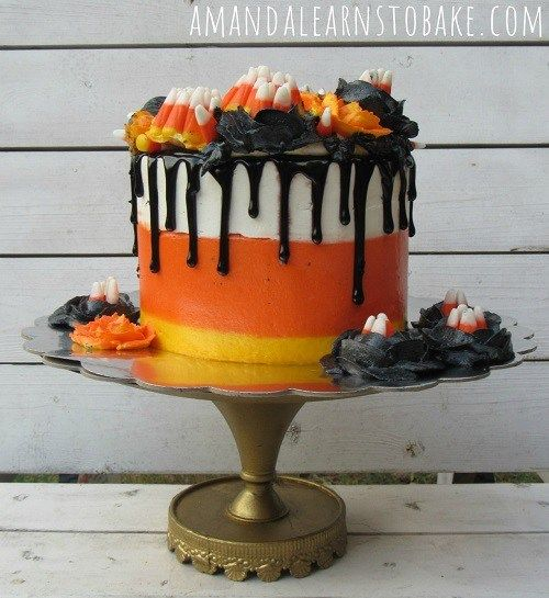 Looking for a cute Halloween cake decorating idea? How about this