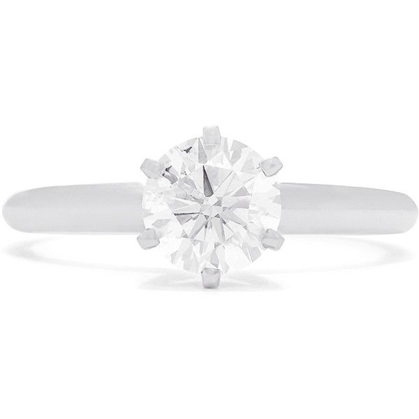 Effy Jewelry Effy Pave Classica 14K White Gold Diamond Engagement... (£4,085) ❤ liked on Polyvore featuring jewelry, rings, diamond rings, white gold diamond rings, 14 karat gold ring, 14k diamond ring and white gold rings
