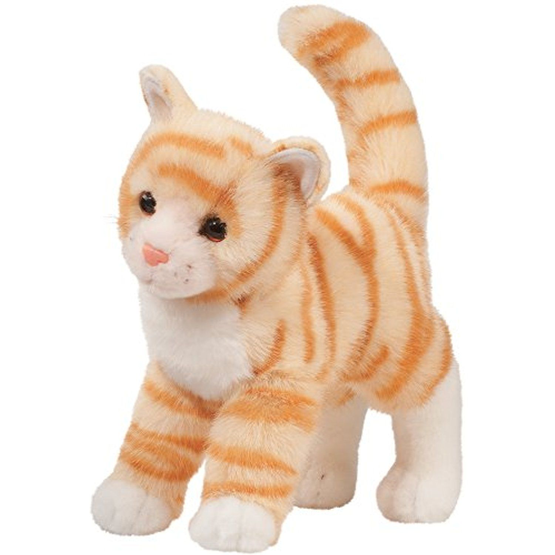 "Tiffy Orange Tabby Cat 12"" By Douglas ** Click image to"