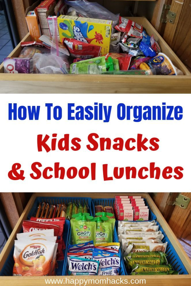 Easy Pantry Organization Ideas for Kids Snacks  03