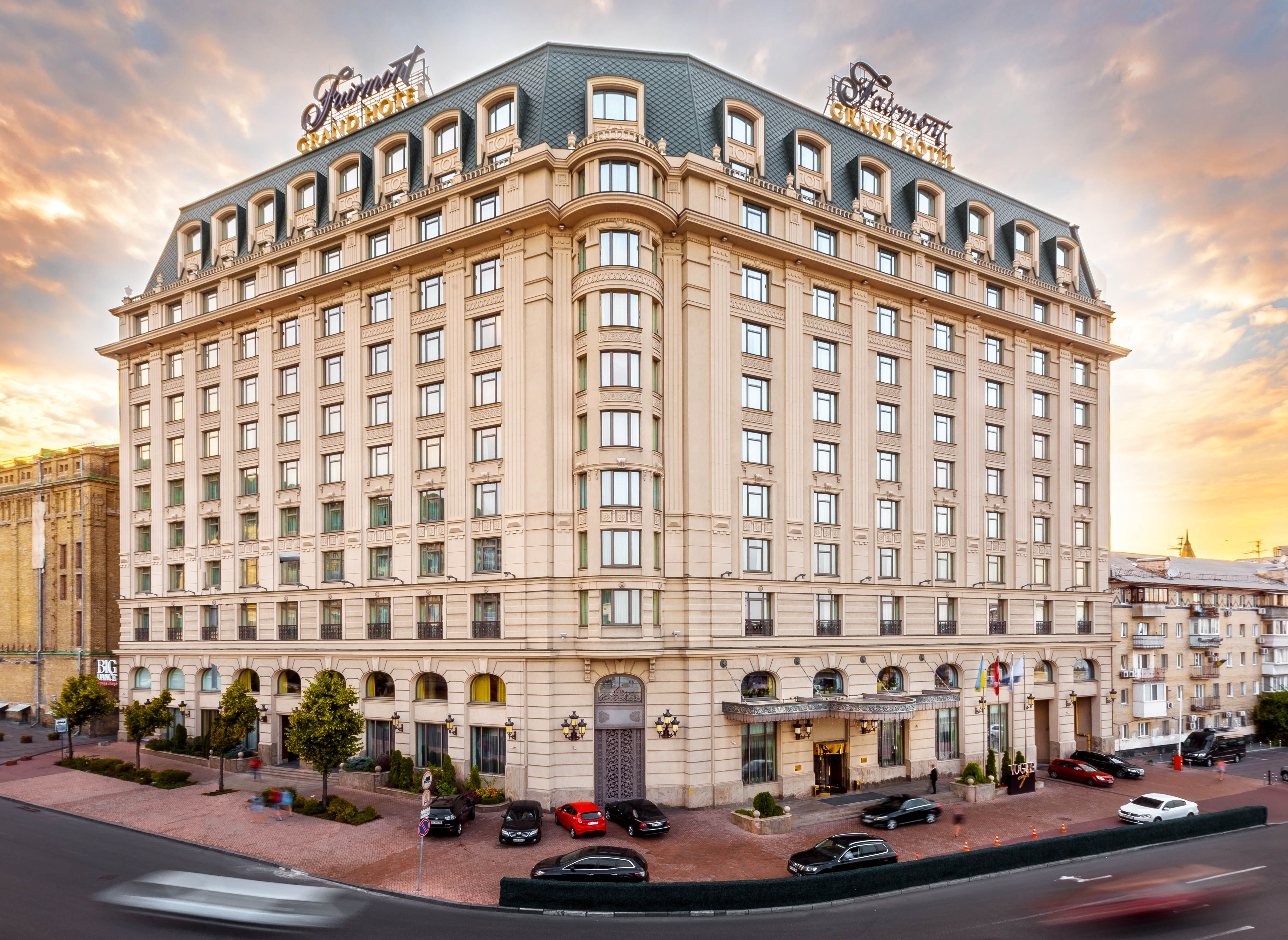 Fairmont Grand Hotel Kyiv Opened Its