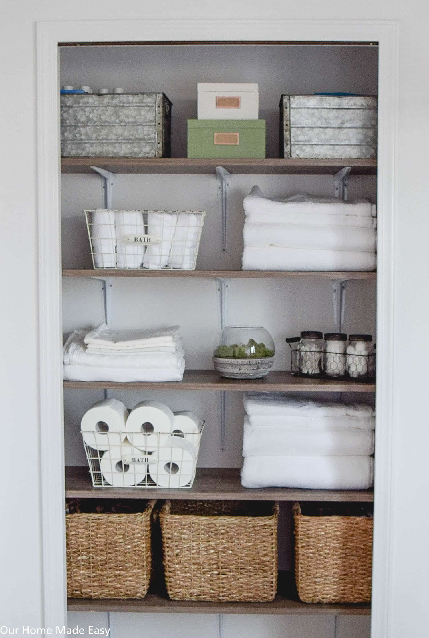16 Bathroom Linen Cabinet Ideas