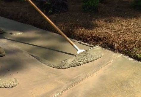 How To Resurface A Concrete Driveway Epoxy Garage Floors