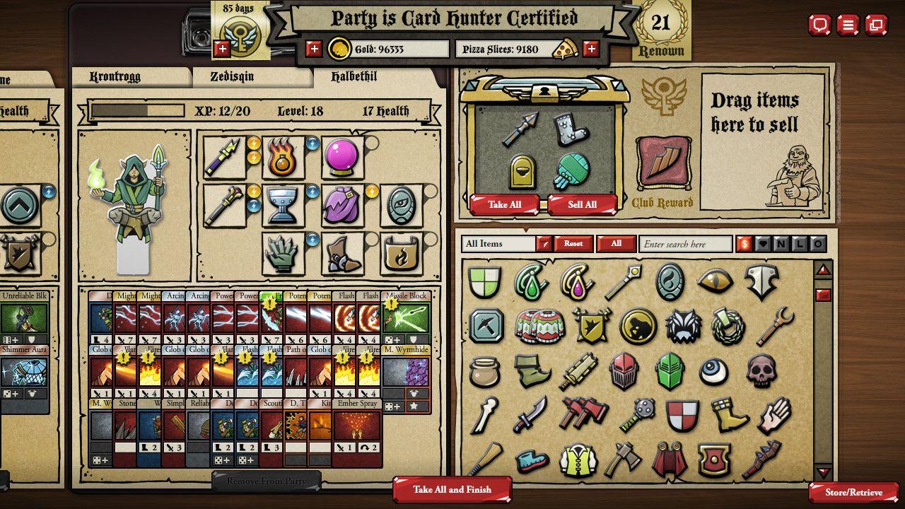 Card hunter on steam cards pixel design hunter