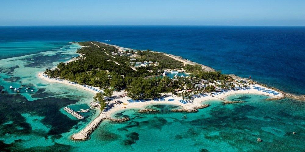 Coco Cay Royal Caribbean Private Island Bahamas Map  Royal Caribbean  An