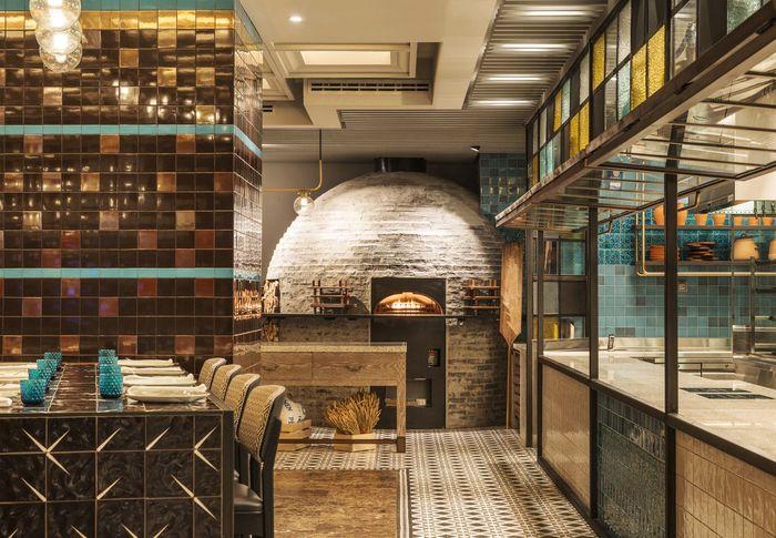Besh Turkish Kitchen Interior Turkish Restaurant Oriental