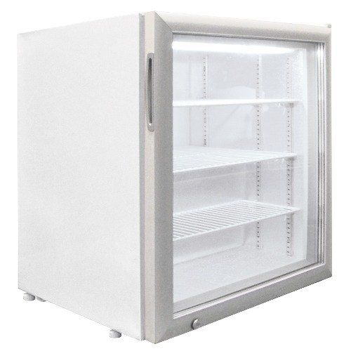 Excellence Ctf 3hc White Countertop Display Freezer With Swing