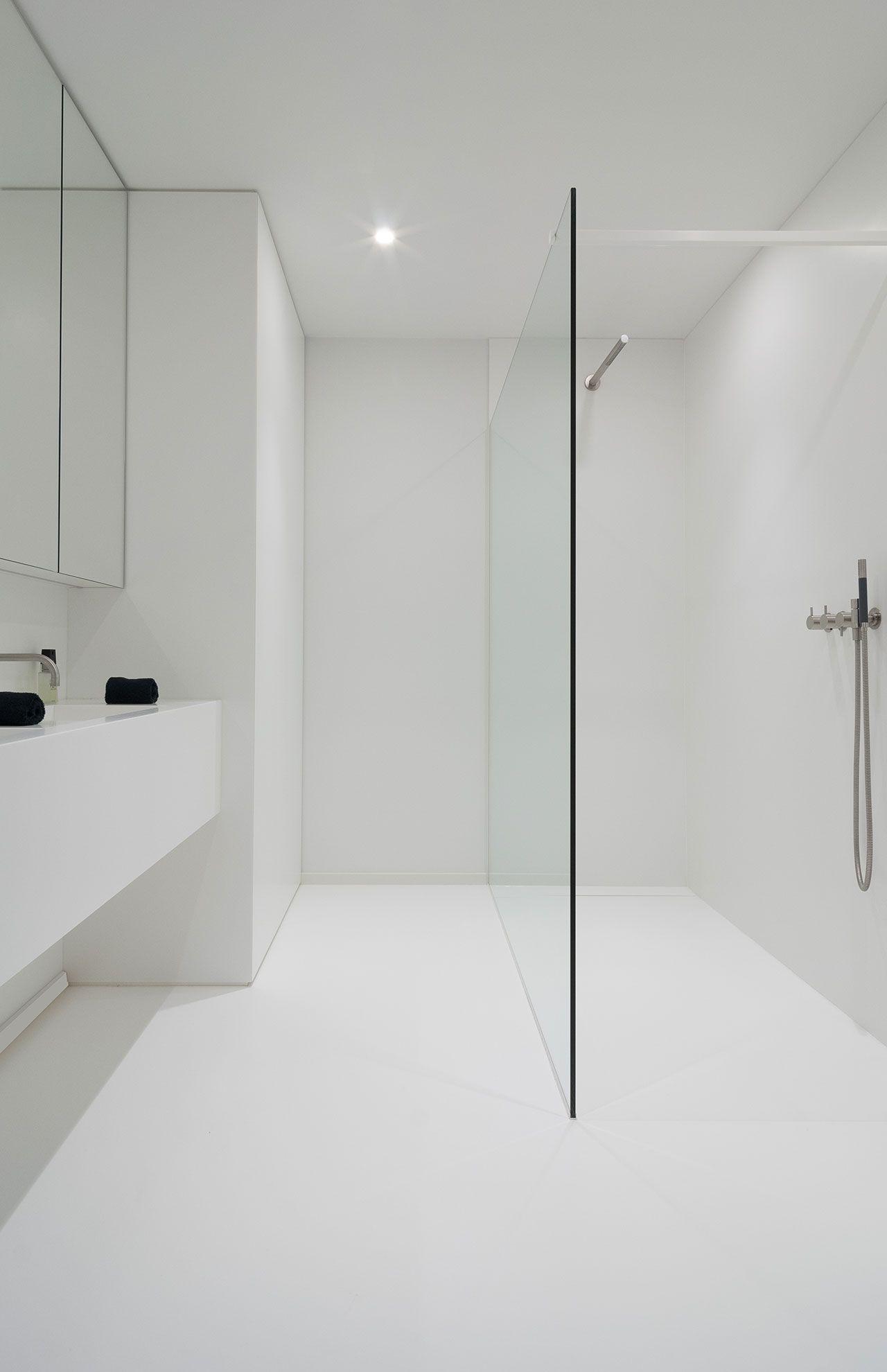 Bathroom Inspiration #bathroom #white #inspiration #floor ...
