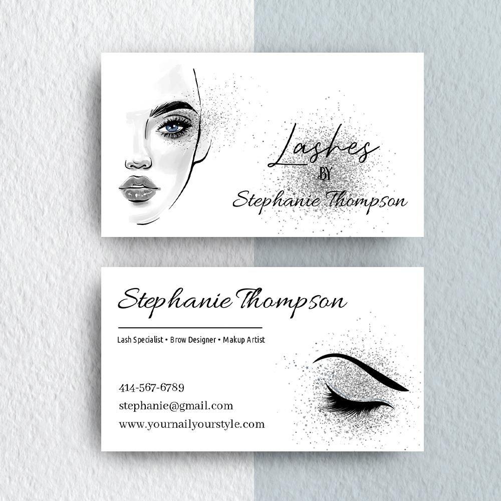 Makeup Artist Business Card Template Editable Cards Try Before You Makeup Artist Business Cards Templates Makeup Artist Business Cards Artist Business Cards