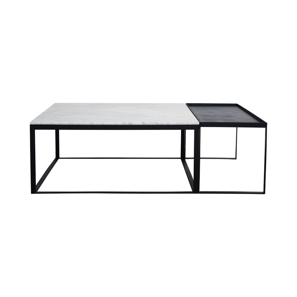 Melrose Marble Coffee Table Set | • living room • | Pinterest ...