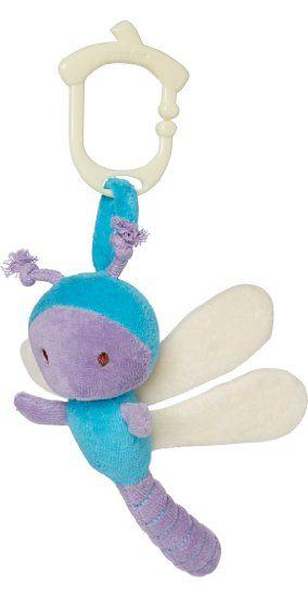 Amazon.com : My Natural Clip n Go Stroller Toy, Caterpillar : Baby
