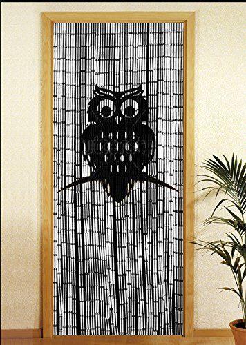 WENKO Bambusvorhang Eule Bambus Vorhänge Pinterest Bambus - bambus garten design