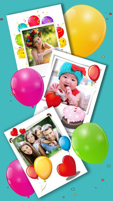 Screenshot 6 For Happy Birthday Photo Frames Create Greeting Cards Collages And Edit Your Images