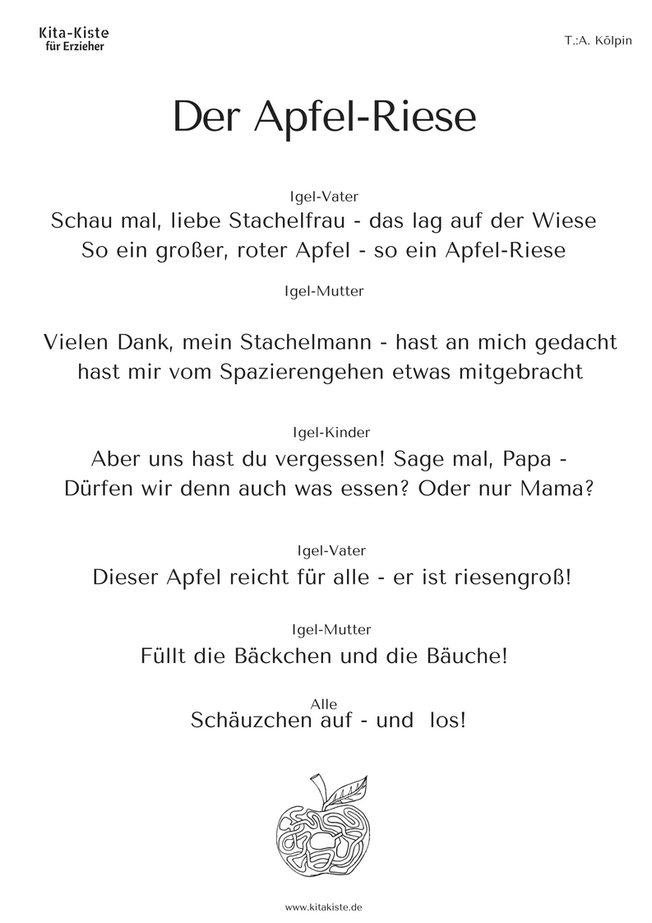 Herbst - kitakiste | lied und spruchgut | Pinterest | Herbst ...