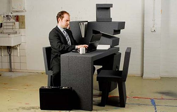 Lovely Mobile Compact Office By Tim Vinke