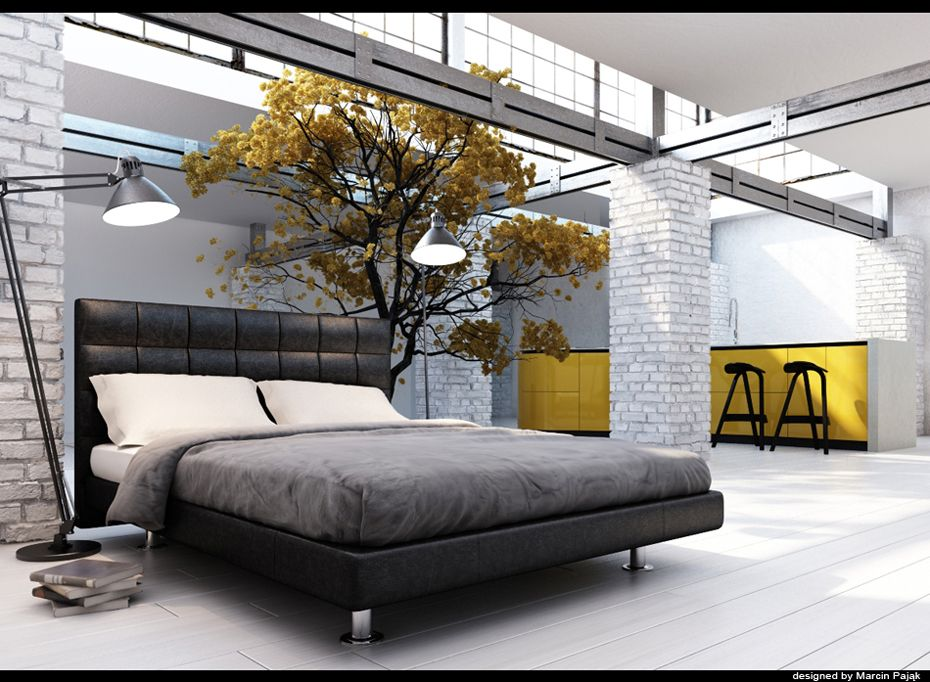 Genial Whatisindustrialdesign: U201cConcrete Bedroom By Marcin Pajak.: Concrete Bedroom  By Marcin Pajak.