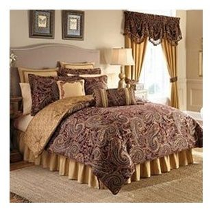 Estate By Croscill Regalia King Size 4 Piece Comforter Set Only