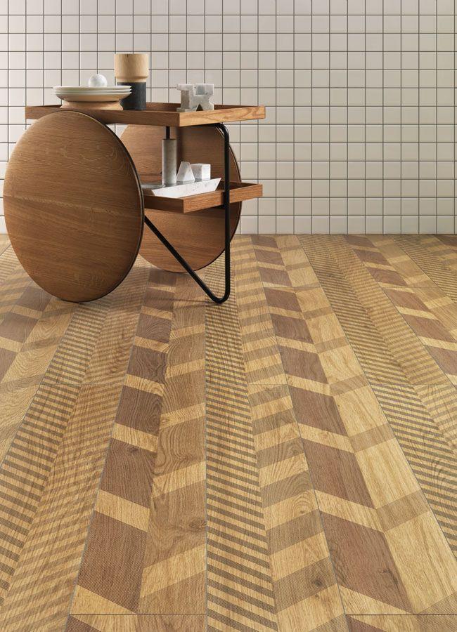 Piastrelle in gres laminato effetto legno Slimtech Type 32 ...