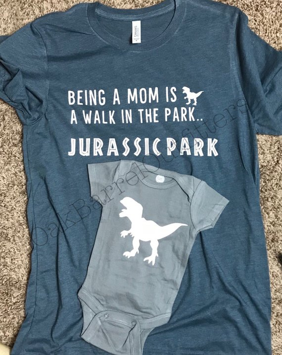 Jurassic park mom shirt matching dinosaur onesie funny life also best diy shirts images in rh pinterest