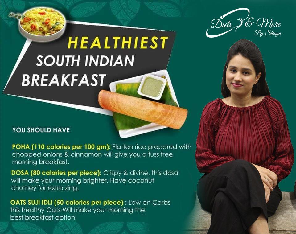 Healthiest southindianbreakfast indian breakfast food