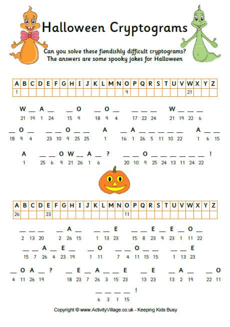 Tricks to solving cryptograms