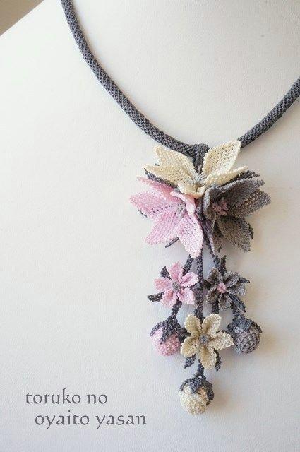 画像1: シルクイーネオヤ ネックレス