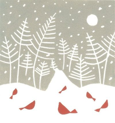 Hey, I found this really awesome Etsy listing at http://www.etsy.com/listing/117127078/snow-path-linocut-print-original-hand