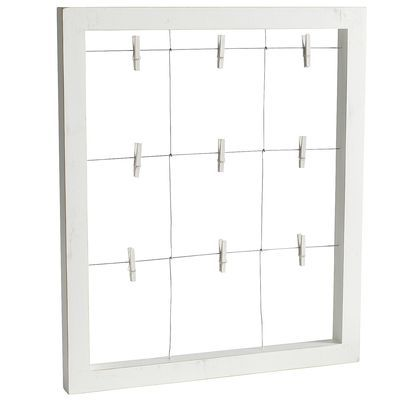 White Window Wall Frame from Pier1, perfect for Stella & Dot display--print & cut out pics or hang up mini look books!