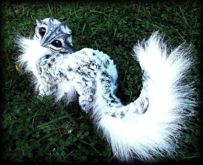 Sold Posable Siberian Baby Dragon By Wood Splitter Lee