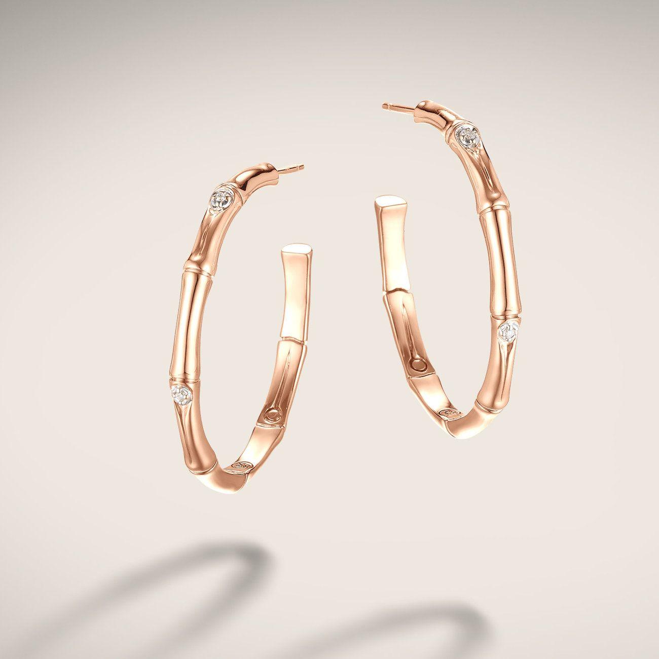 John Hardy Medium Hoop Earrings 4i8H72l