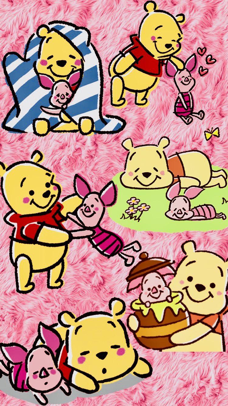 Winnie L Ourson Fond D Ecran De Cellulaire Sur Le Theme De Disney 45 Clubboxingday Boxingday Boxi Disney Sticker Winnie The Pooh Drawing Disney Wallpaper