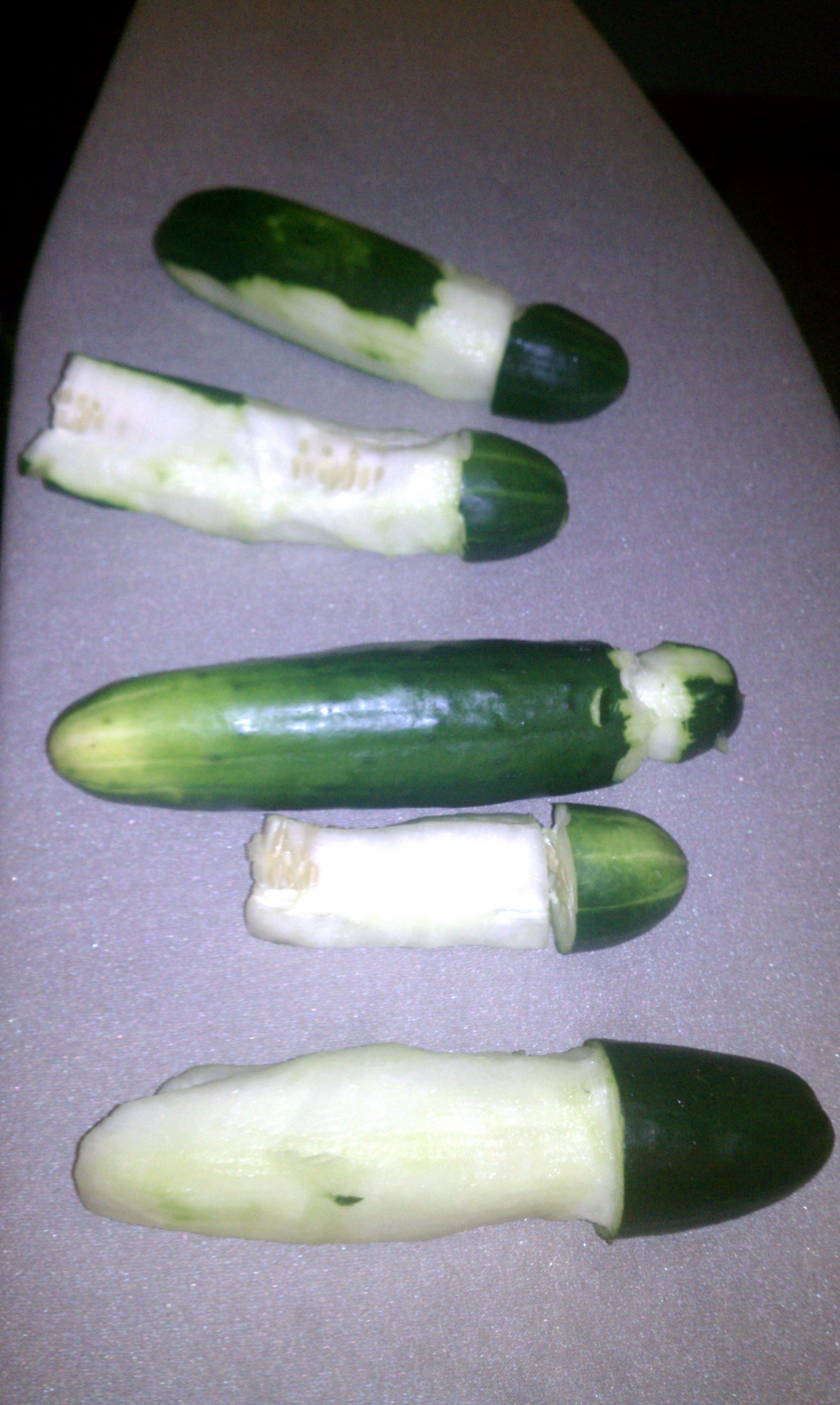 Actual Food Porno.....Bachelorette Party Penis-carving. see who can ...