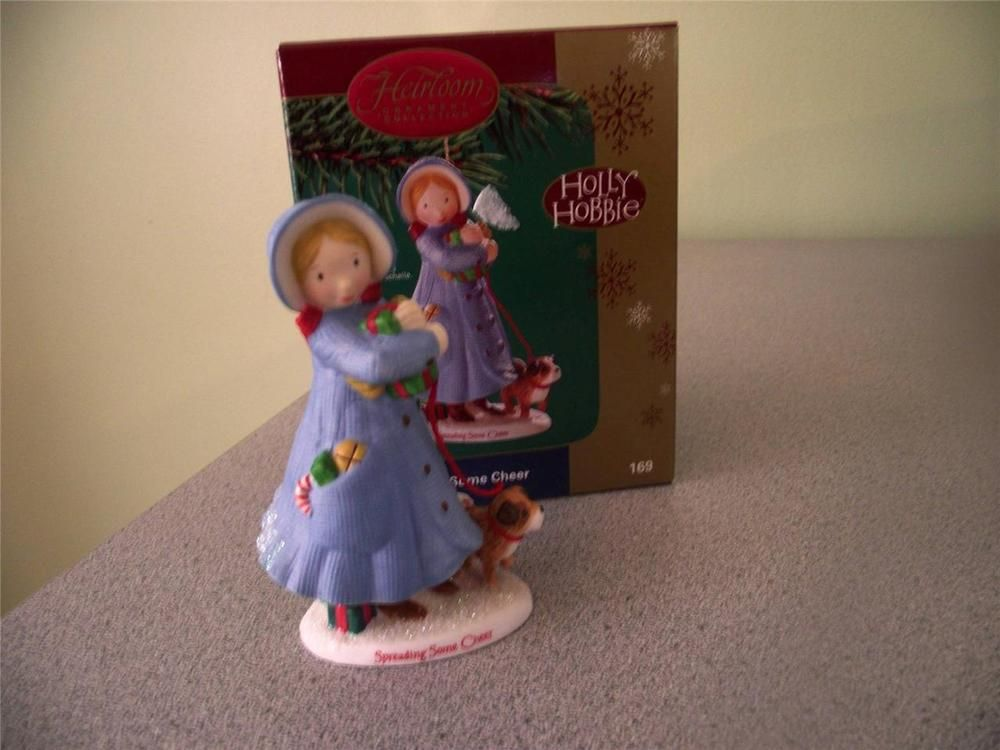 This is a lovely Heirloom Carlton Cards Holly Hobbie Christmas ornament in box in great condition. This would make a great addition to your collection. | eBay!