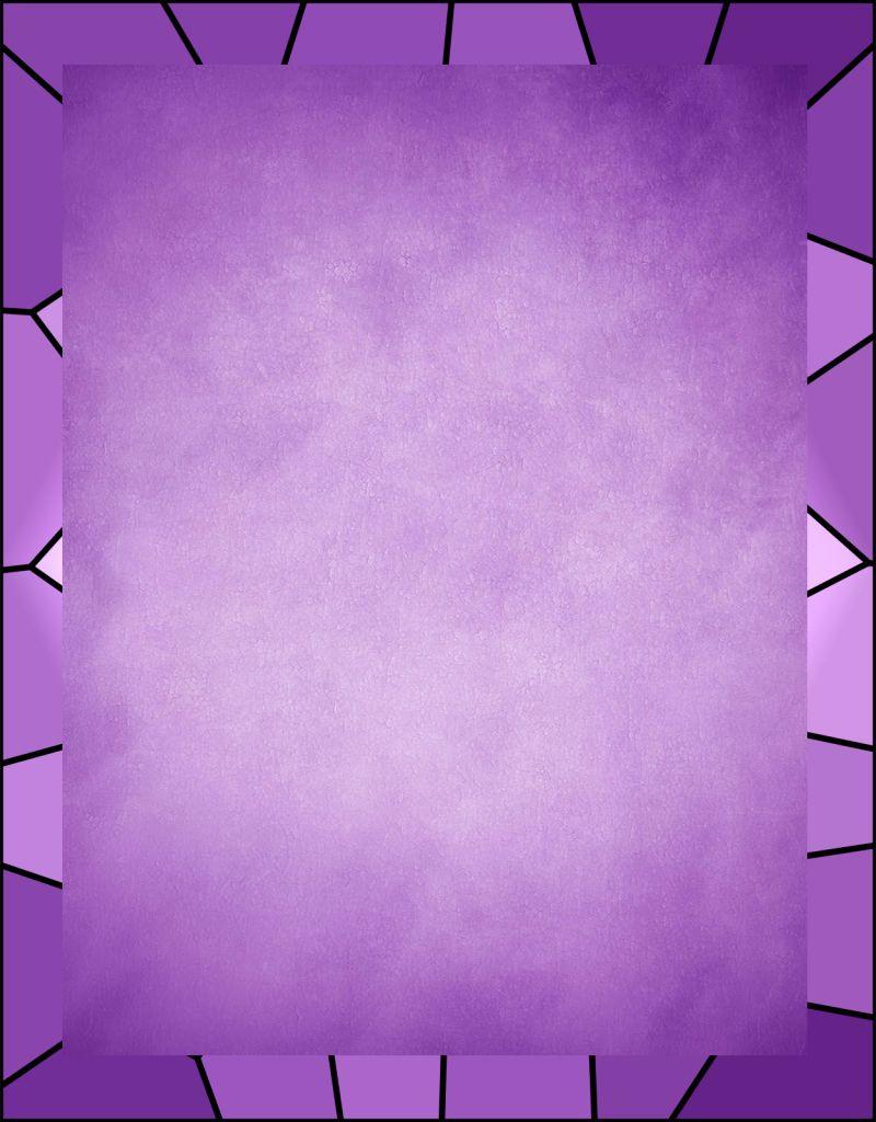 Caratula fondo lila con estilo para Word | sobres y folios decorados ...