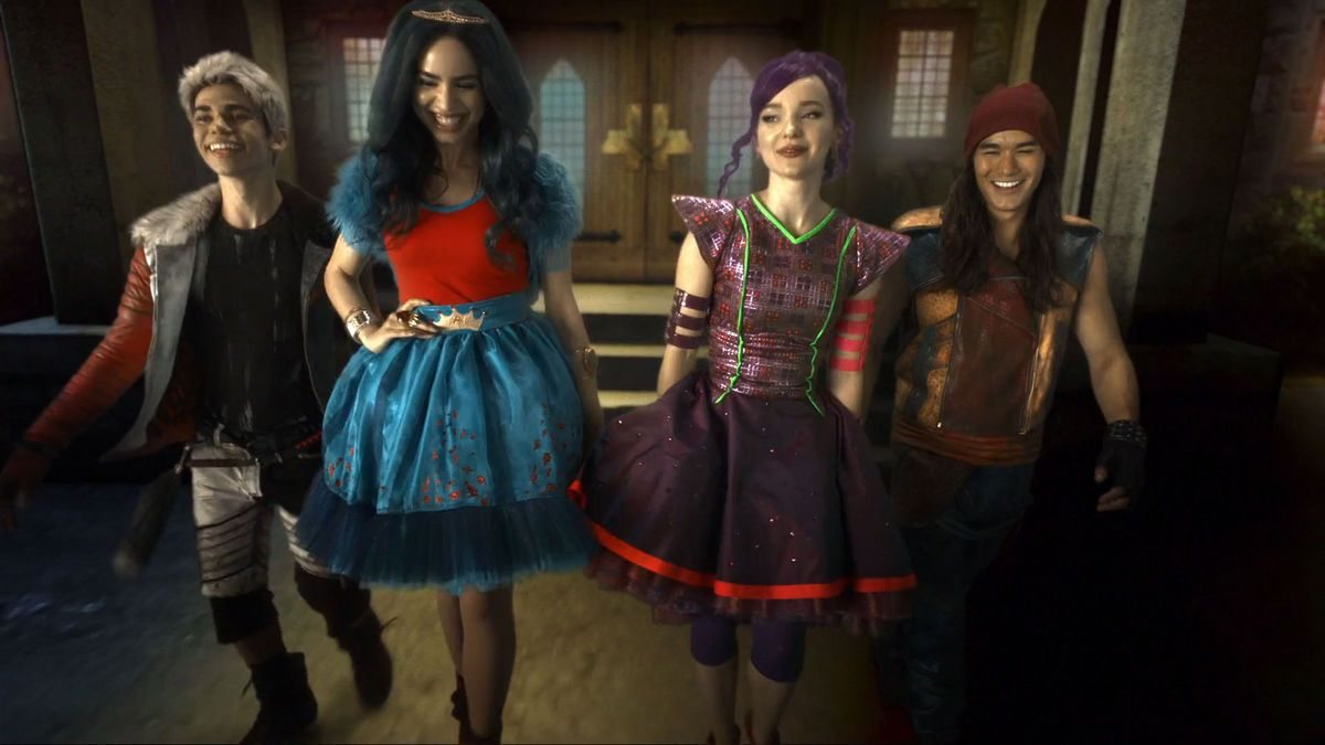 Descendants 2 Descendants Pinterest