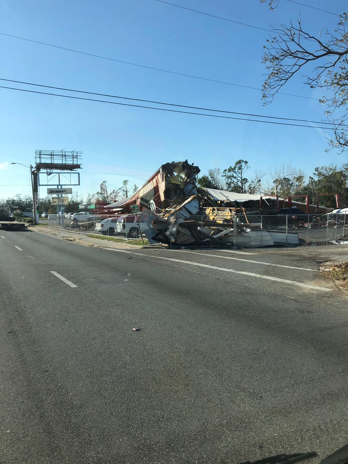 Aftermath From Hurricanemichael In Panama City Beach Florida Call Apex Disaster Specialists If You Have Dama Panama City Panama Panama City Beach Hurricane