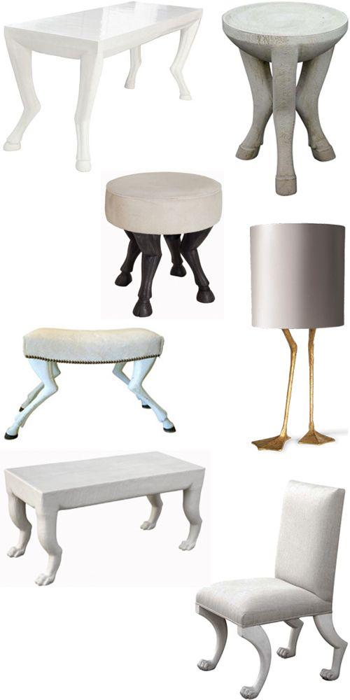 Delicieux Animal Leg Furniture Interior Design