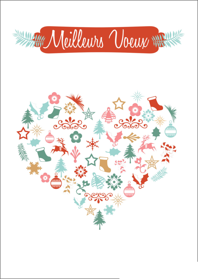 carte de voeux gratuite à imprimer impression carte de voeux (avec images) | Cartes de voeux