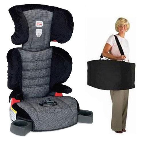 Britax E9la869kit1 Parkway Sg Belt Positioning Booster Seat Car Travel Bag Accessories Traveling Toddler