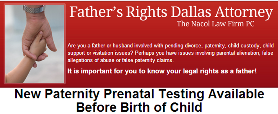 New Paternity Prenatal Testing Available Before Birth Of Child Http Www Fathersrightsdallas Com New Paternit Fathers Rights Parental Alienation Child Custody