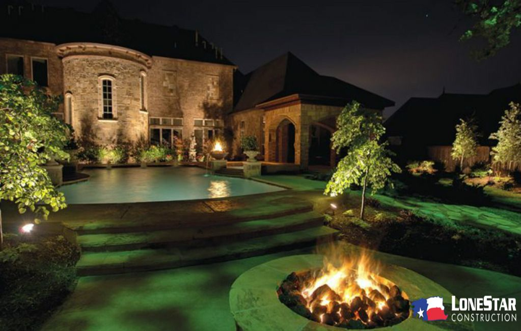 Pin By Lone Star Outdoor Lighting Construction On Outdoor