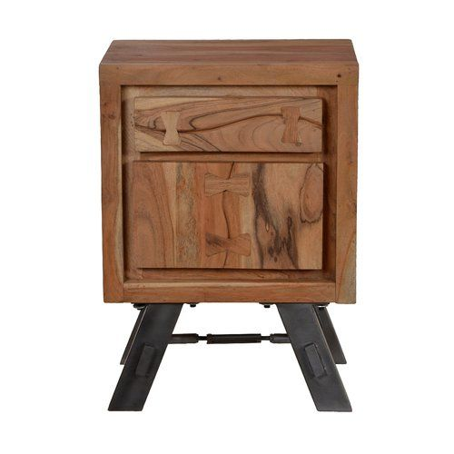 Valerie 1 Drawer Bedside Table Union Rustic Products In
