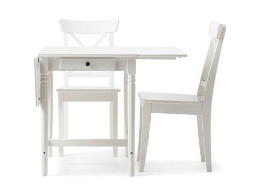 Kleine Weisse Esstisch Und Stühle Überprüfen Sie mehr auf http ...