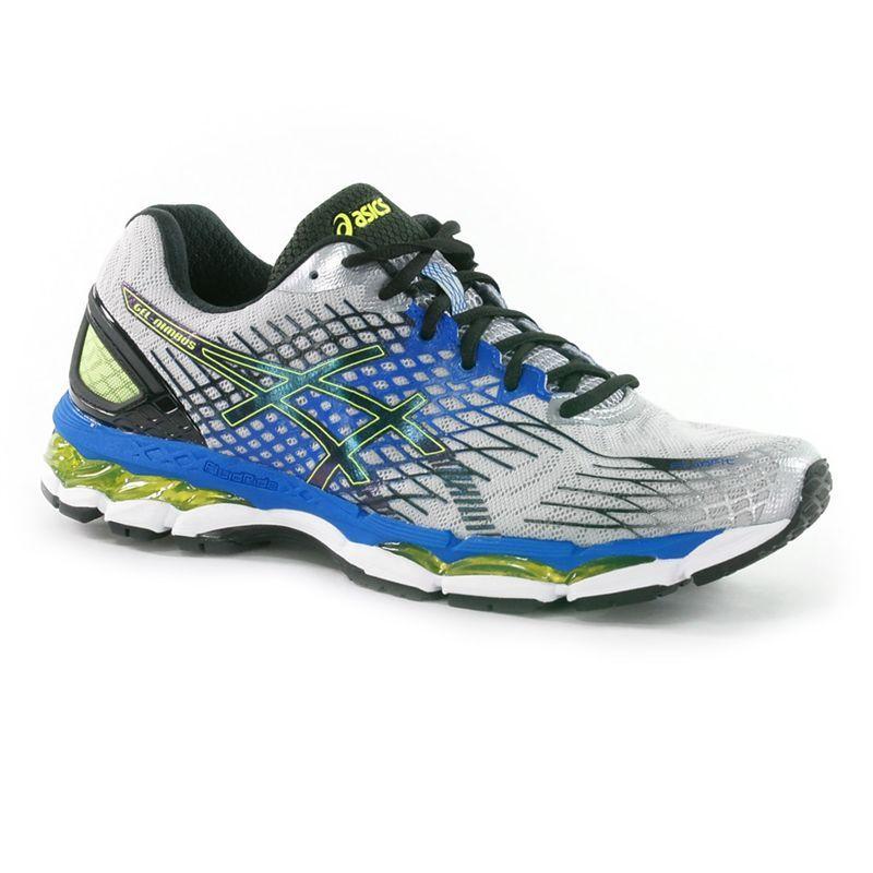 plus récent e1996 984a6 Asics Nimbus 17 mens Running Shoe, Lightning, Flash Yellow ...
