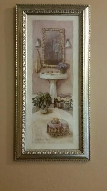 C Winterle Olson Brass Bathroom Scene Picture Art Prints