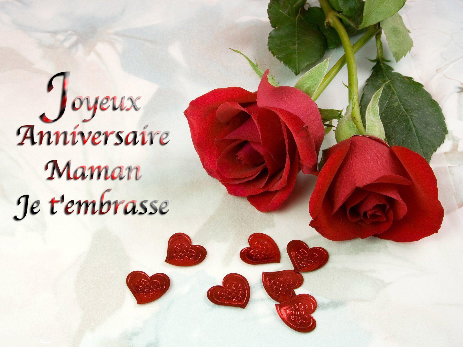 Carte Bonne Anniversaire Maman A Imprimer Jlfavero Carte Bon Anniversaire Joyeux Anniversaire Maman Belles Fleurs Roses