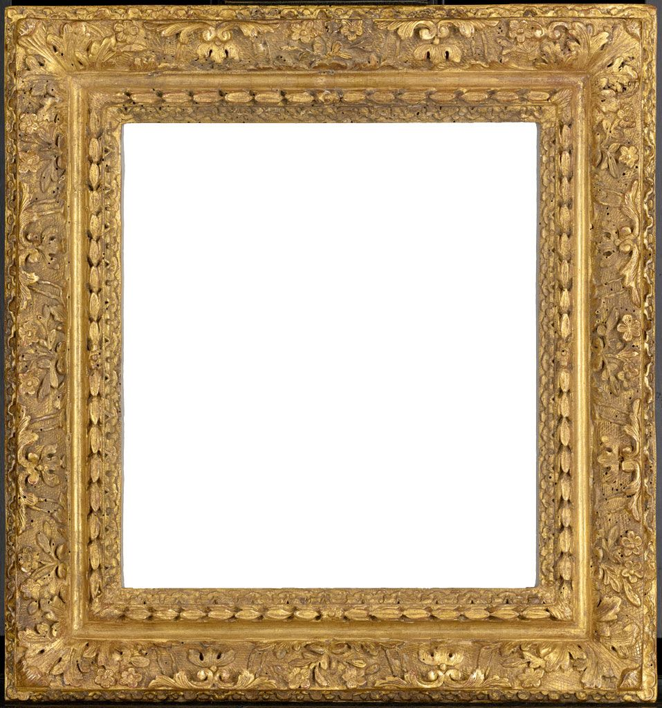 Louis XIV frame, carved and gilded oak. The J. Paul Getty
