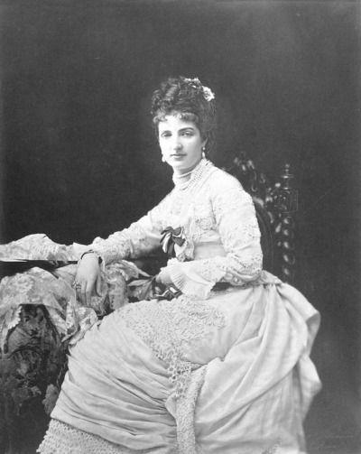 Queen Margherita of Italy.