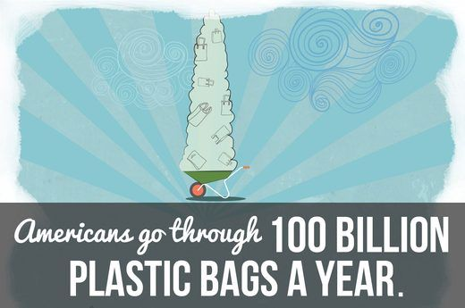 1. Keep Reusable Tote Bags in Your Car